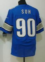 Free Shipping 2013 New Drift Fashion Detroit #90 Ndamukong Suh jersey,American Football Jerseys,sport jerseys