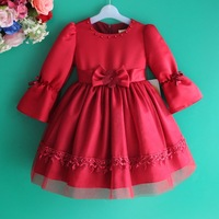 new 2013 autumn -summer children's clothes girls pageant dress wedding dresses for girls