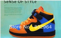Boys and girls 2013 new Korean high-top sneakers slip resistant free shipping