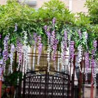 100cm artificial wisteria floribce /artificial flower/flower decration/Silk flower bean flower for living room decoration