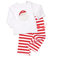New for 2013 Autumn and Winter children's clothing sets boys girls long sleeves t-shirt + pants 2 piece suit for the chiristmas