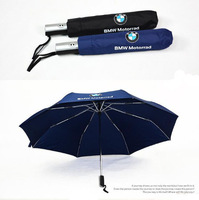 2013 Hot Sale High Quality Compact auto-open(close) umbrella three Folding Big Umbrella /for BMW Motorrad Umbrella Free Shipping