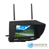 "5.8GHz Wireless FPV Monitor 7"" LCD  Monitor Built-in Dual Receiver"