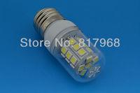 Hot Sale 5pcs/lot E27/E14/G9 27 LED 5050 SMD  High Power LED Corn Bulb White / Warm White LED Lamp 110V Shipping Free
