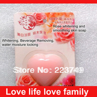 Traditional Chinese medicine recipe solid rose Whitening cosmetic soap free shipping