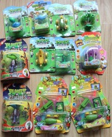 12pcs WHOLESALE Toys Zombie and Plant from  Plants Vs Zombies 2012 hot Game Toys  Children  Kids Chritmas Family Gift