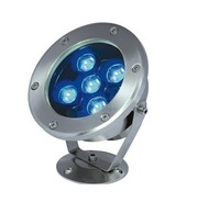 Waterproof IP68 12V 24V 5x1w 5W LED Underwater Fountain Light  Pond Light LED Swimming Pool Light LED Garden Light 6 Colors