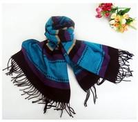 patch color Free shipping wholesale plaid classic scarf warm pashmina Shawl  men women unisex fashion muffler scarves A01W26