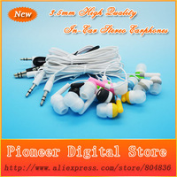 Newest Fashion High Quality 3.5mm In-Ear Earphone Headphone  For MP3 MP4 Free Shipping