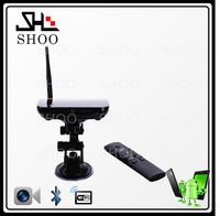 CS968 Android 4.2 Quad Core Android TV box Mini PC Smart TV box 2GB RAM 8G tv stick Rk3188 Camera Bluetooth XBMC +Remote Control