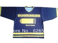 custom ice hockey jersey, can be custom made as your design, no moq