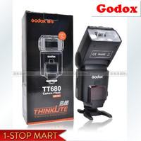 Free shipping New arrival Godox TT680 on camera flash light, speedlite, suitable for Canon EOS, E-TTL