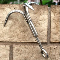 Free Shiping Outdoor tools Survival Tiger Hook Climbing Claw bearing 150/320kg small/large size