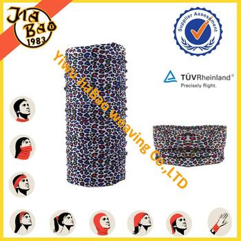 multifunctional printed seamless tube bandana multi scarf headwear headband