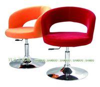 Bar chair bar chair computer chair office chair swivel chair lift flannel -346-lyg