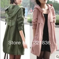 Free Shipping The new long han edition women cultivate one's morality leisure coat