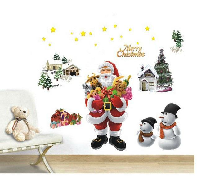 Paper Christmas Tree Wall Decoration : Supernova sale merry christmas tree kids mirror wall art
