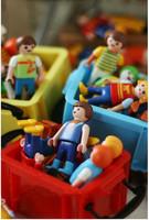 Wholesale Playmobil  7cm and 5cm 100pcs/pack castal knight paddle pop mobi building blocks of people Medium Diy Figures wholsale
