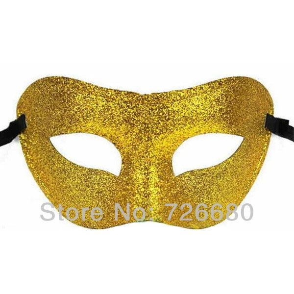 Grátis frete Mysterious Hot Sale moda veneziana máscara festa de Halloween Masquerade ouro 210-0106-1(China (Mainland))