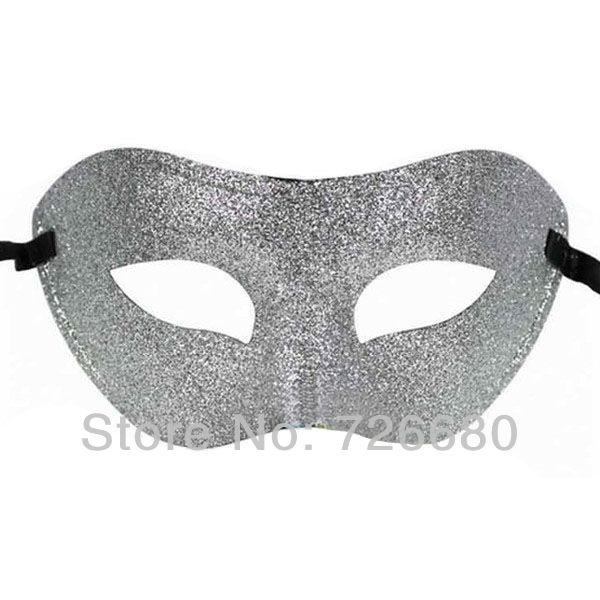 Grátis frete Halloween Party prata Mysterious Hot Sale moda veneziana máscara do disfarce 210-0106-2(China (Mainland))