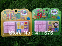 free shipping! new arrival! stamp style eraser, Multi function erasers, nice gift for children, student, school or office use