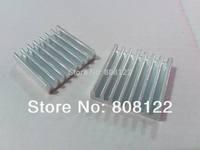 25.5X25X6MM aluminum Heat sinks for Wireless transmitter or receiver  10pcs/lot
