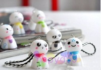 234pcs/lot Fashion cute Japan sunny doll lover mobile phone chain cell phone pendant strap bag decoration  wedding gift supplies