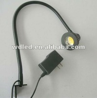 5W AC85-265Vflexible hose work lamp/flexible hose led table lamps/flexible hose industrial lamps