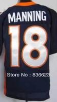 Free shipping Cheap New Arrive #18 Peyton Manning  Men's Elite Football Jersey size: 40-56 , Mix Order