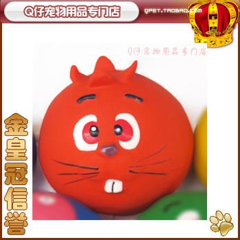 Leodog pet toy dog toy sound toys natural latex ball odontoprisis