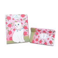 New Arrival Cartoon Cat Leather Stand Case for Samsung Galaxy Note 8.0 N5100/N5110