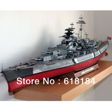 wholesale paper model battleship