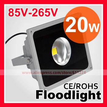 10W 20W 30W 50W W LED Gather Light Flood Light IP65 Waterproof AC85-265V High Power Outdoor Floodlight Lamp Free Shipping