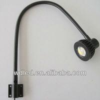 5W 12V/24V LED Machine Work Light ,LED Work Light,gooseneck hose machine led work light