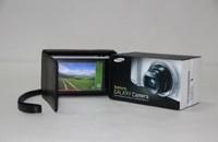 "MegaGear ""Ever Ready"" Protective Black Leather Camera Case EK-GC100, Samsung EK-GC110 Galaxy Digital Camera Black"
