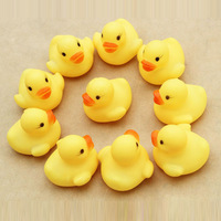 New Arrival  NEW One Dozen (12) Rubber Duck Ducky Duckie Baby Shower Birthday Party Favors Free Shipping & Wholesale