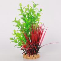 Fish tank aquarium decoration artificial plants plastic plants 37043
