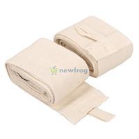 2PCS 2.4M Boxing Handwraps Bandage MMA Training Wrist Protect Fist White   S7NF