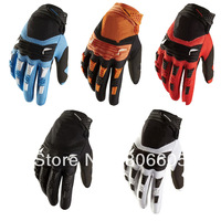 2013 New Dirtpaw MX ATV Men Mountain Bike Motorcross Bicycle Full Fingers Sports Racing Gloves Cycling Gloves For Fox One Pair