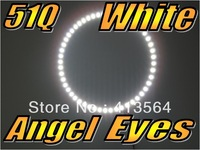 51Q 160mm Angel Eye SMD LED Super White Bulbs Front Light Parking Flux Globe Free Shipping! Excellent Quality!One Year Warranty!