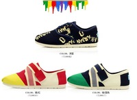 Beautiful  Canvas Rubber Shoes, Women Designers Sneakers, Casual Shoes For Woman 2013