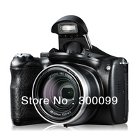 DSLR Long Focus 14.1M CMOS Sensor digital Camera with 21X Intelligent zoom 15x optical zoom Plug-In 2X magnifying lens