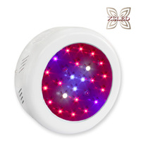 Fedex Free Shipping 25x3w Mini Cute UFO LED Plant Grow Lamp Red & Blue 8:1
