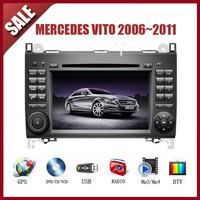 Mercedes Vito 2006~2011 CAR GPS DVD Player HD Screen with GPS IPOD TV AM/FM Bluetooth