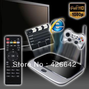 K-R42 MK888 CS918 Android 4.2 TV Box RK3188 Quad Core Mini PC RJ-45 USB WiFi Antenna XBMC Smart TV Media Player Free Shipping!