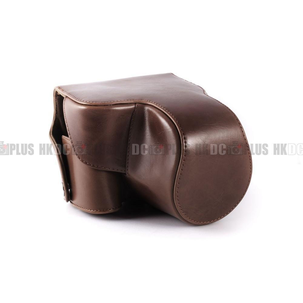 en cuir pour nikon coolpix p520 canon. sx50 leica v-lux3 panasonic