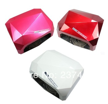2013 Newest 18W LED+CCFL Nail Polish Dryer / Lamp / Light for Curing LED Gels