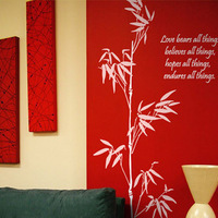 New arrival wall stickers sofa home decoration wallpaper luckybamboo