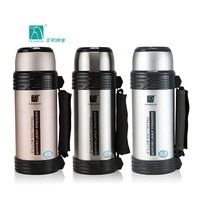 Penguin insulation pot water bottle glass stainless steel vacuum bottle travel pot 1200ml
