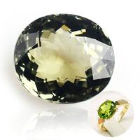 Natural green tourmaline luo dan ring surface ring apotropaic birthday gift transhipment  Mother Daughter Gifts SM Free shipping